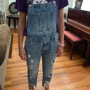 ZARA denim overalls these are a must have